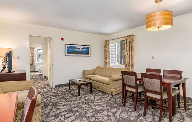 One Bedroom Suite or Deluxe Suites at Grand Summit Hotel at Attitash, New Hampshire