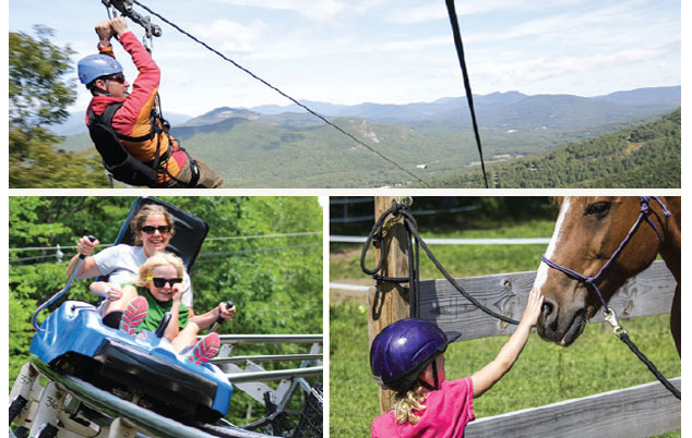 Attitash Mountain Resort at New Hampshire
