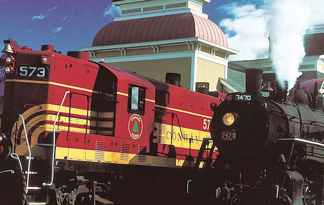 Conway Scenic Railroad at Bartlett